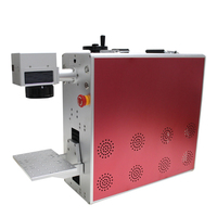 New 20W Triangle fiber laser marking machine DIY metal lettering marking automatic portable laser machine remove back cover
