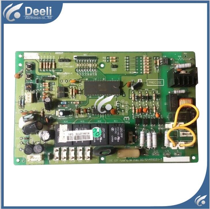 цена на 95% new good working for air conditioning Computer board BG76N488G01-T BG76N488G01 control board 90% new