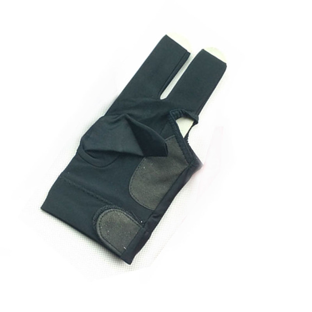 free shipping 2pcs/lot High elastic fabric Billiards Pool Gloves Half-finger snooker cue gloves left-hand Billiards accessories 3