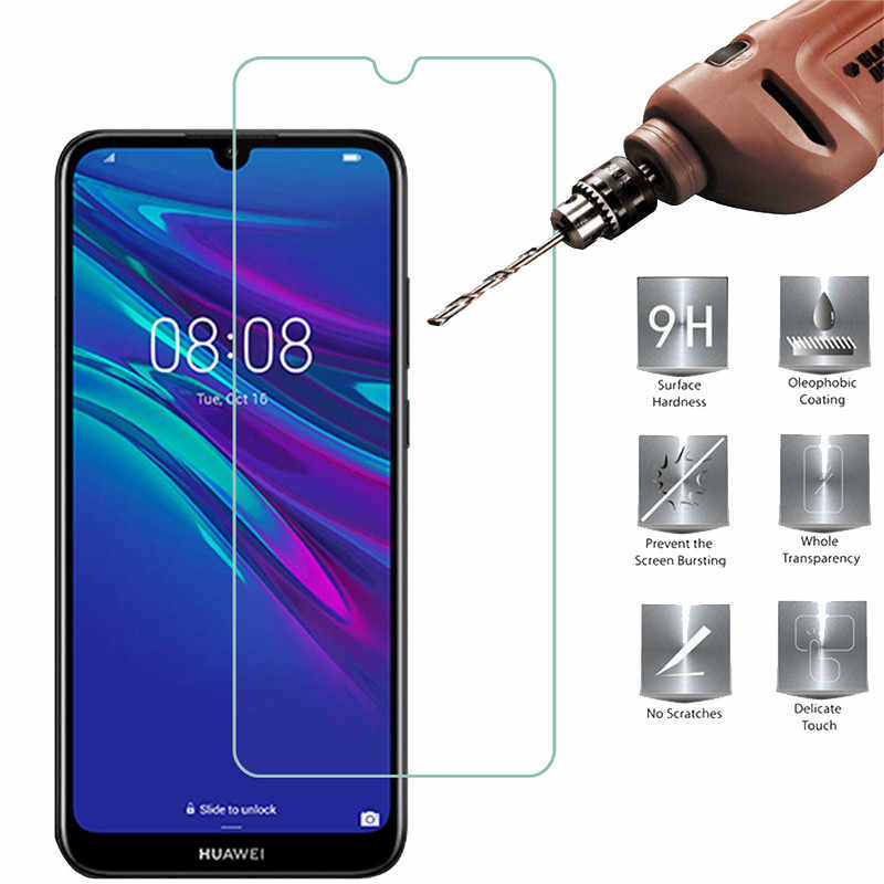 Tempered Glass For Huawei Y5 Y6 Y9 Y7 P Smart 2019 2018 P20 P30 P10 P8 P9 Lite Mate 20 10 Lite Pro Nova 3 3i Honor 9 10 20 Lite