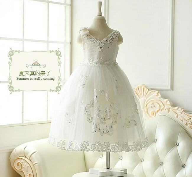 Girls Dress Sequin Tulle Dresses For Girl Party Kids Back Lace V Neck Evening Dresses 2017 Princess Party Brithday Dress цена 2017
