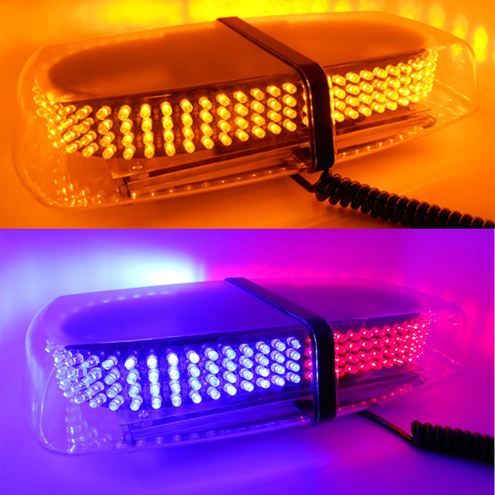 30W LED Strobe Warning Light Strobe Grill Flashing Breakdown Emergency Light Car Truck Beacon Lamp Amber Red and Blue car truck 4 led emergency beacon light bar hazard flash strobe warning blue red white