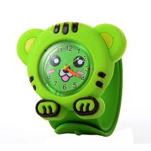 Fashion 3D Quartz Children Toy watch Cartoon Watches rubber Strap Wristwatches For girl boy Sport Clocks