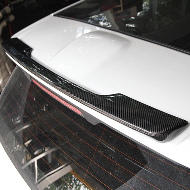Range Rover Evoque >> Rear Roof spoiler Wing for Range Rover Evoque Carbon Fiber 2010 2015-in Spoilers & Wings from ...
