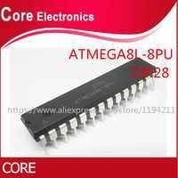 100 stks ATMEGA8L-8PU ATMEGA8L-8 DIP28 DIP ATMEGA8L ATMEGA8-8PU nieuwe originele IC