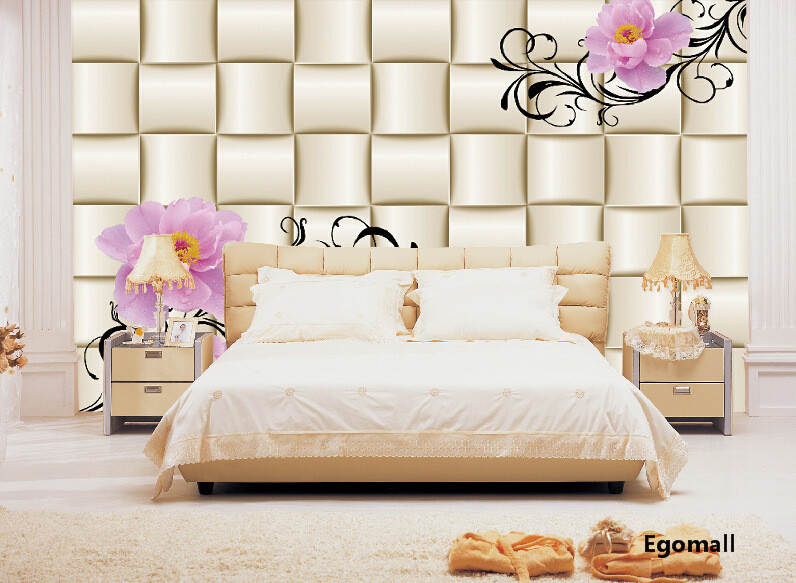 Aliexpress buy simple modern 3d aliexpress buy papel de for Modern 3d wallpaper for bedroom