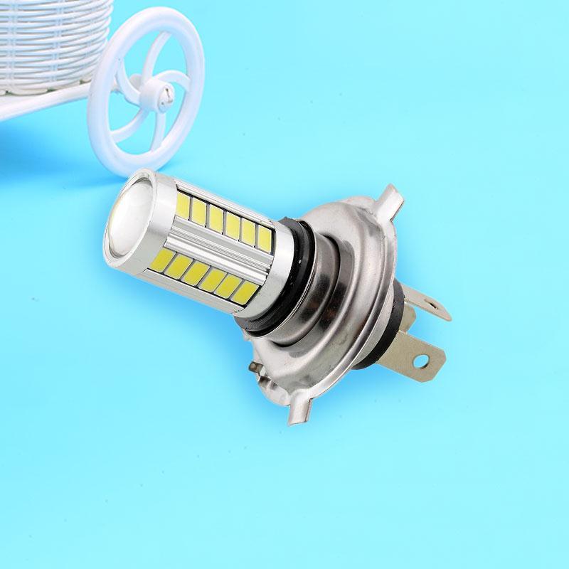 H4 SMD5630 LED White Auto Car Fog Driving Light Headlight Light Bulb Lamp 12V