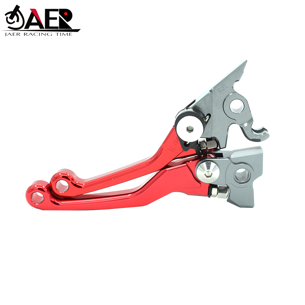 JAER Motorcycle Brake Clutch Lever Pivot Lever For Honda CRF150R 2007 2018 CR80R CR85R CR125R CR250R CRF450R-in Levers, Ropes & Cables from Automobiles & Motorcycles