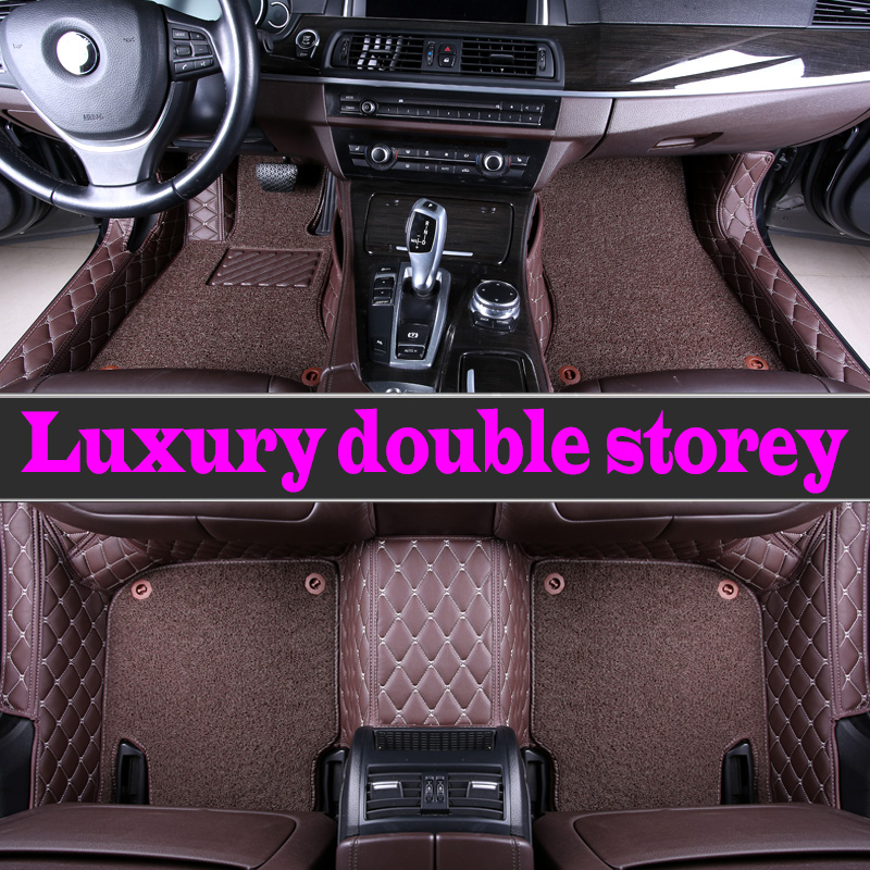 ZHAOYANHUA Custom car floor mats for Mercedes Benz <font><b>ML</b></font> 320 <font><b>350</b></font> W164 <font><b>W166</b></font> W163 styling carpet floor image