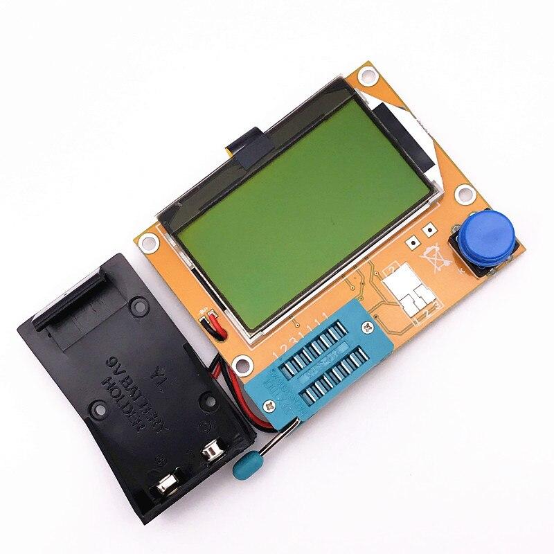 Digital lcr ESR Meter Mega328 Transistor Tester Diode Triode Capacitance MOS/PNP/NPN L/C/R TESTER METER electric meter