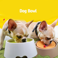 Dog Water Bowl Silicone Cat Food Bowls Pets Water Drinking Pet Feeding Bowl Voerbak Hond Plates Bol Chien Animal Product 50Z0723
