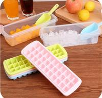 12 18 33 44 Holes Plastic Square Ice Cube Mold Tray Lattice Desert Mould Bar Party