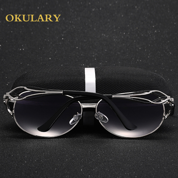 Mirror Oval Women Sunglasses  1