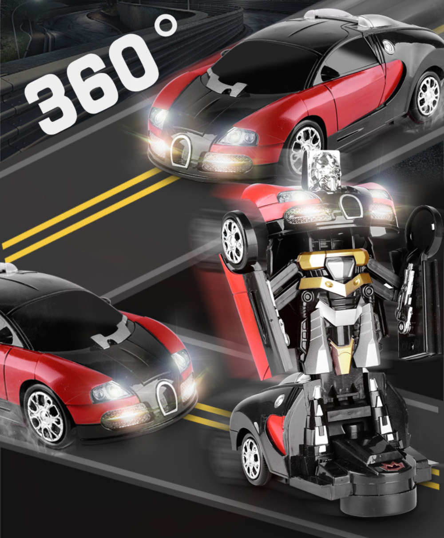 Electronic Transformer Robot Toy Car 9