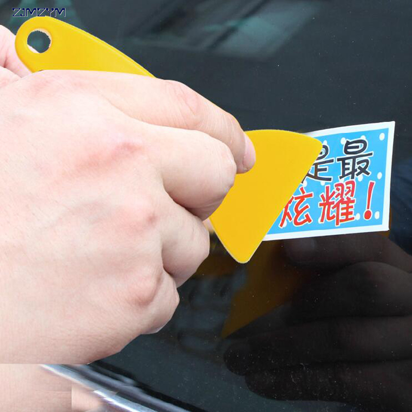 10PC/set Plastic Small film scraper car film tools wiper plate glass car sticker tools E ...