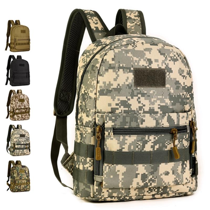 5 Colors Waterproof Tactical Backpack Canvas Outdoor Military Rucksacks Sports Camping Hiking Trekking Fishing Hunting Bag