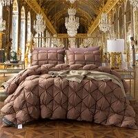 3 шт. 100% гусиный пух мягкое одеяло наполнитель постельных принадлежностей форма бусины одеяло для детей и взрослых