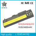 10.8v 4400mah High Quality New Laptop Battery for lenovo Thinkpad E40 T410 SL510 T420