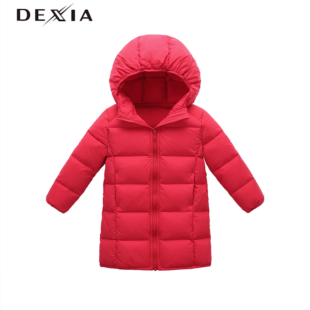 ac5086232 DEXIA New Boy Autumn Jacket Hooded 3 8 years old Children Warm Coats ...