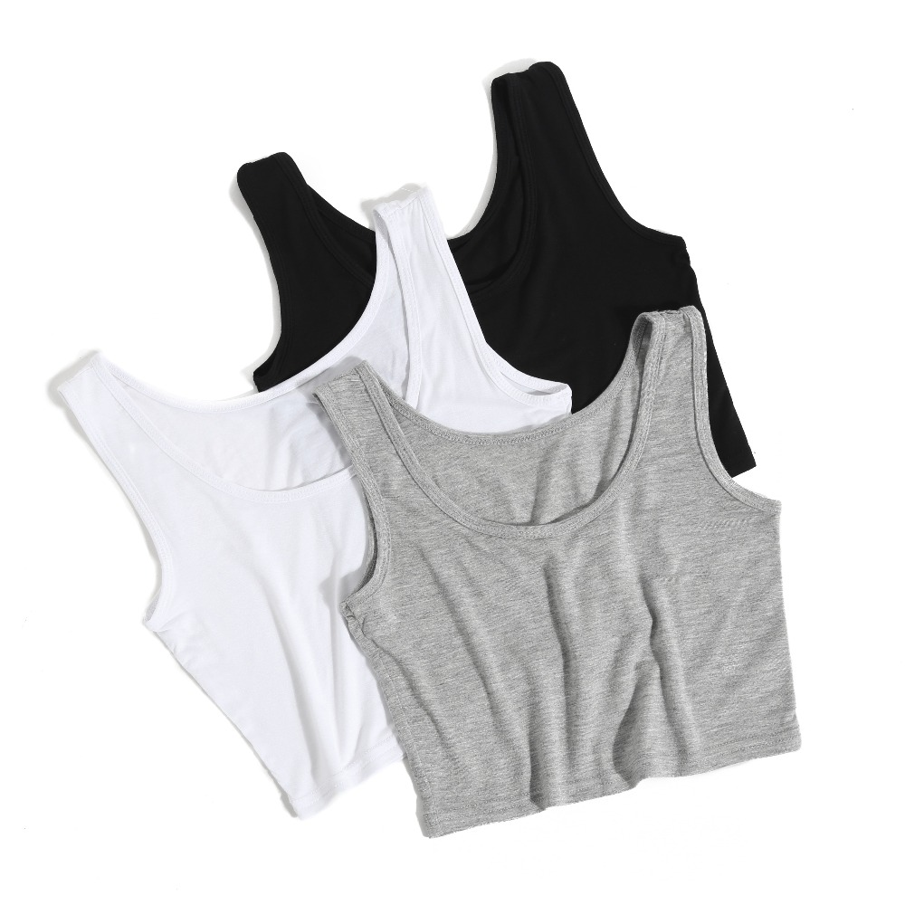 Ex UK Chainstore Ladies Ribbed Vest Camisole Long Top for Gym Exercise
