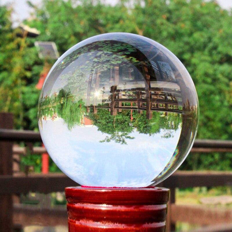Ultra Clair Acrylique Boule de Cristal 100mm Jonglerie de Contact Des Tours de Magie Pour Professionnel Magicien Magie Illusion Jouet Accessoires