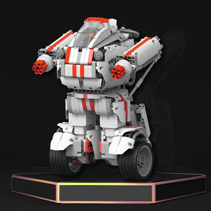Xiaomi MITU bricolage infrarouge RC Robot contrôle de téléphone Mobile auto-assemblé Robot capteurs à ultrasons bloc de construction jouet modèle Kits