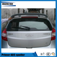 ABS Primer Unpainted Color Rear Roof Spoiler Fit For Fulwin 2 hatchback / Storm 2 / Very / A13 / Celer
