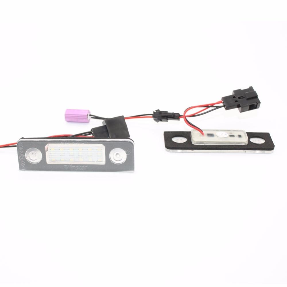 Світлодіодні номерні ліхтарі - Автомобільні фари - фото 1