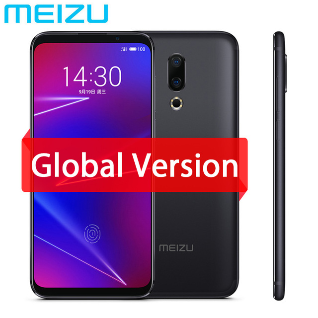 "Original Meizu 16 4G LTE 6G 64G Global Version Cell Phone Snapdragon 710 Octa Core 6.0"" 2160x1080P Full Screen Dual Rear Camera"