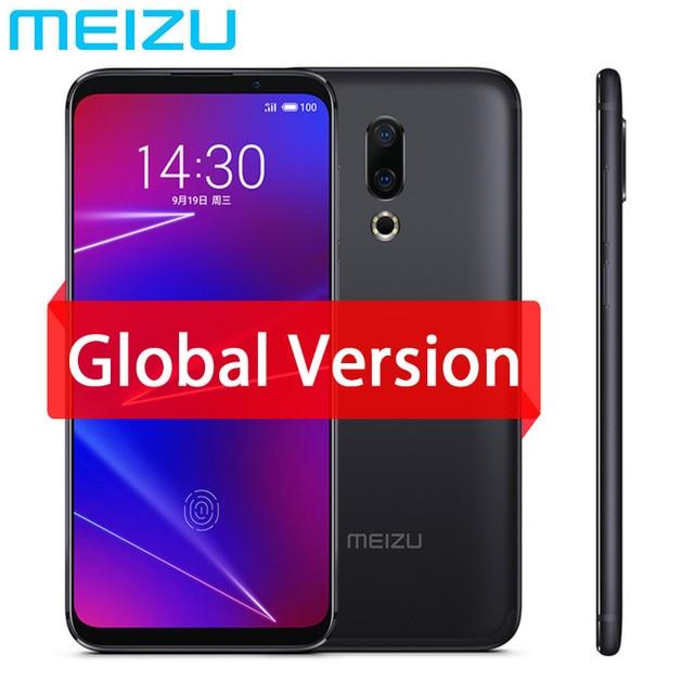 "Original Meizu 16 4G LTE 6G 64G Global Version Cell Phone Snapdragon 710 Octa Core 6.0"" 2160x1080P Full Screen Dual Rear Camera"