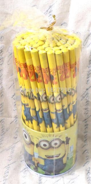 Hotsale 144 Pcs2 Kotak Pensilkartun Despicable Me The Minions