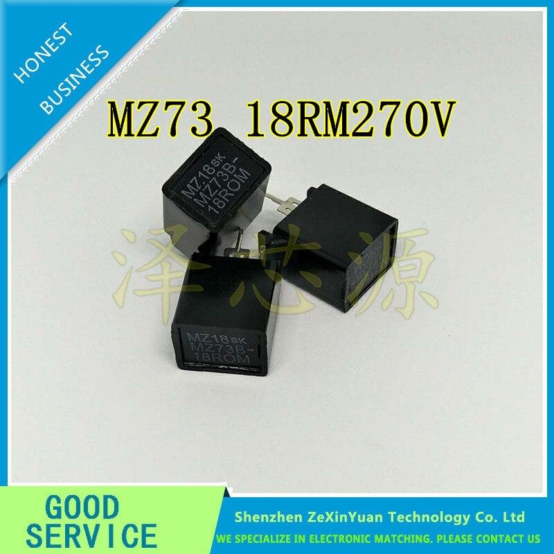20PCS/LOT MZ73 18RM270V 18R Three Feet Degaussing Resistance TV Parts MZ7318RM270V MZ73B-18ROM