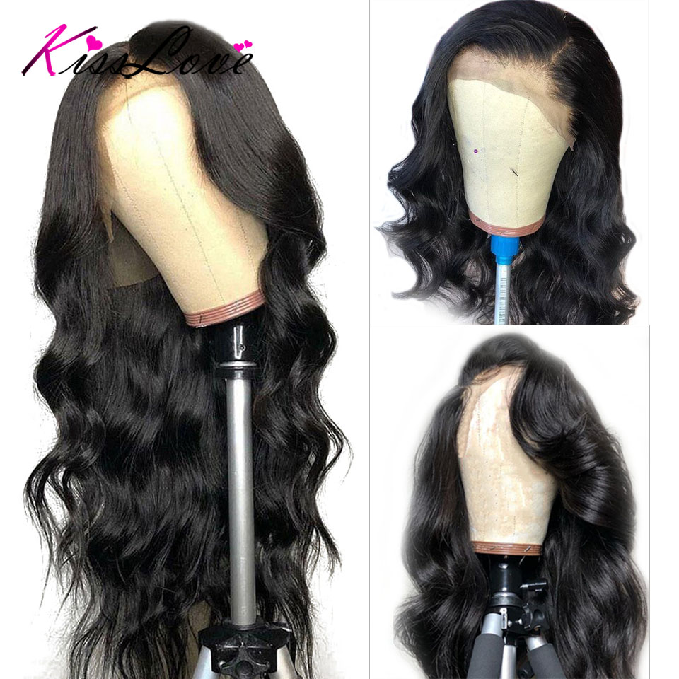 Brazilian 360 Lace Frontal Wig Pre Plucked with Baby Hair Body Wave Lace Front Human Hair