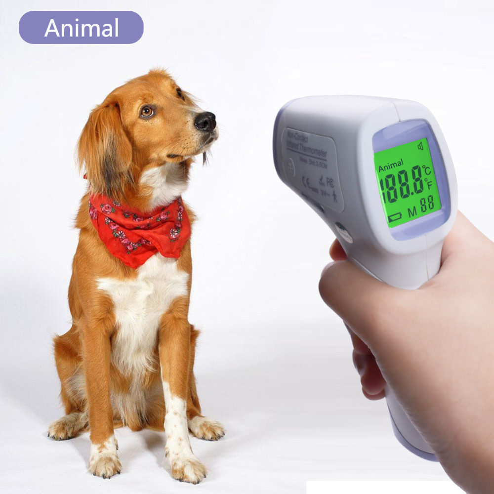Digital Display High Precision Pet Electronic Thermometer Animal Thermometer Infrared Thermometer