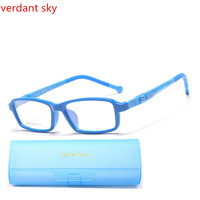Children TR90 Quality Brand Glasses Can Be Equipped With Myopia Sunglasses