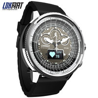 NEW LOKMAT Sport Smart Watch Bluetooth Waterproof pedometer SMS Reminder digital clock smartwatch men for ios Android phone