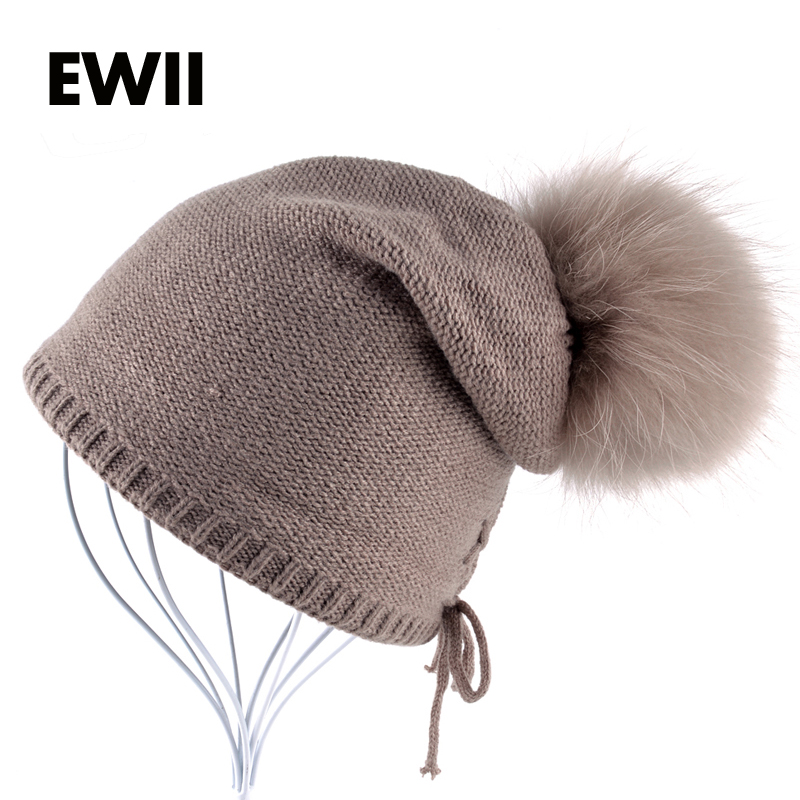 woman winter beanie hat girl knitted wool hats for woman skullies gorro ladies solid colors warm beanies caps girl fur cap bone winter hat direct selling man and woman 2017 new fashion warm wool knitted hat korean style winter skullies