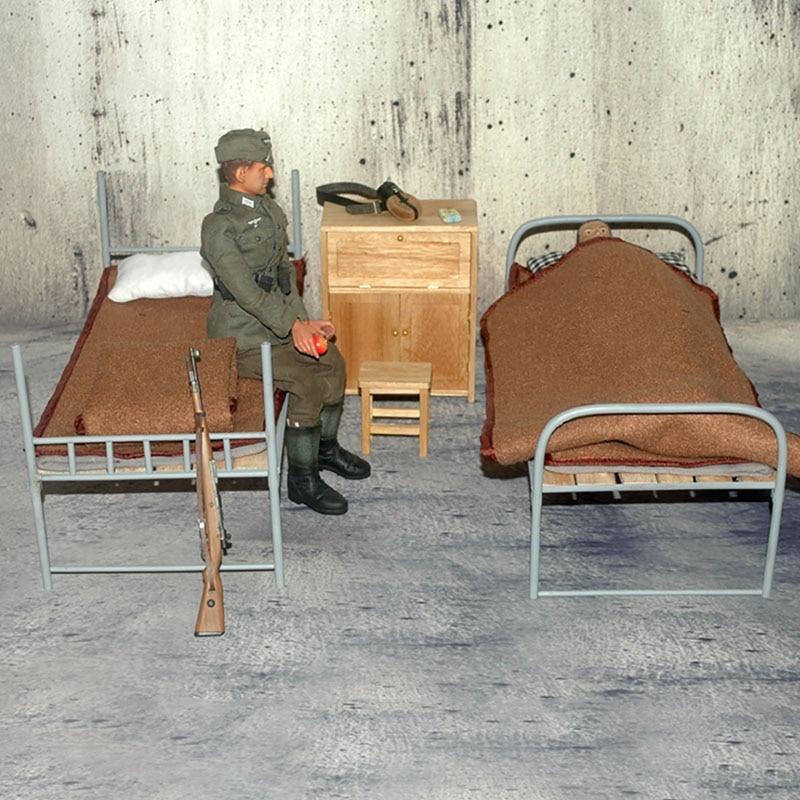 1 6 escala acessorios militares modelo 03