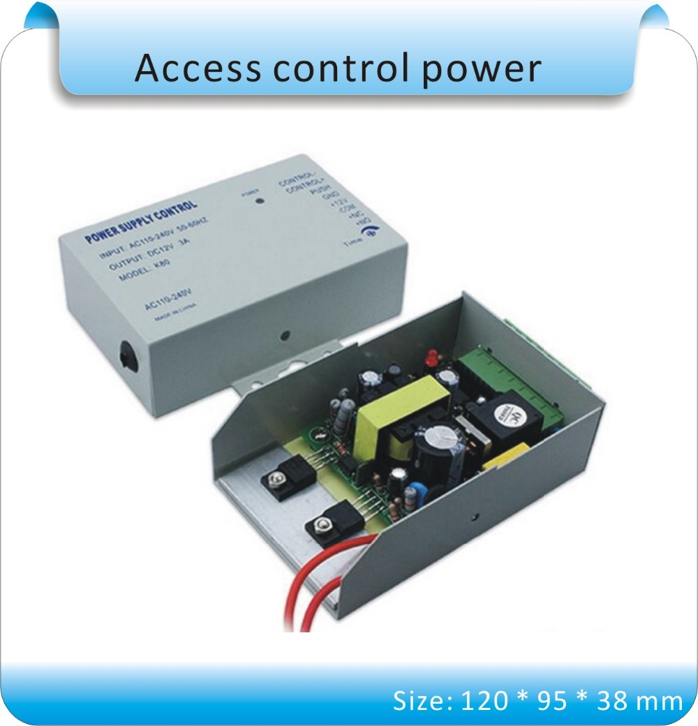 Switching access control system Power Supply DC12V 3A 30W AC100-240V to DC12V 3A Led Driver adapter for Led Strips Wholesale