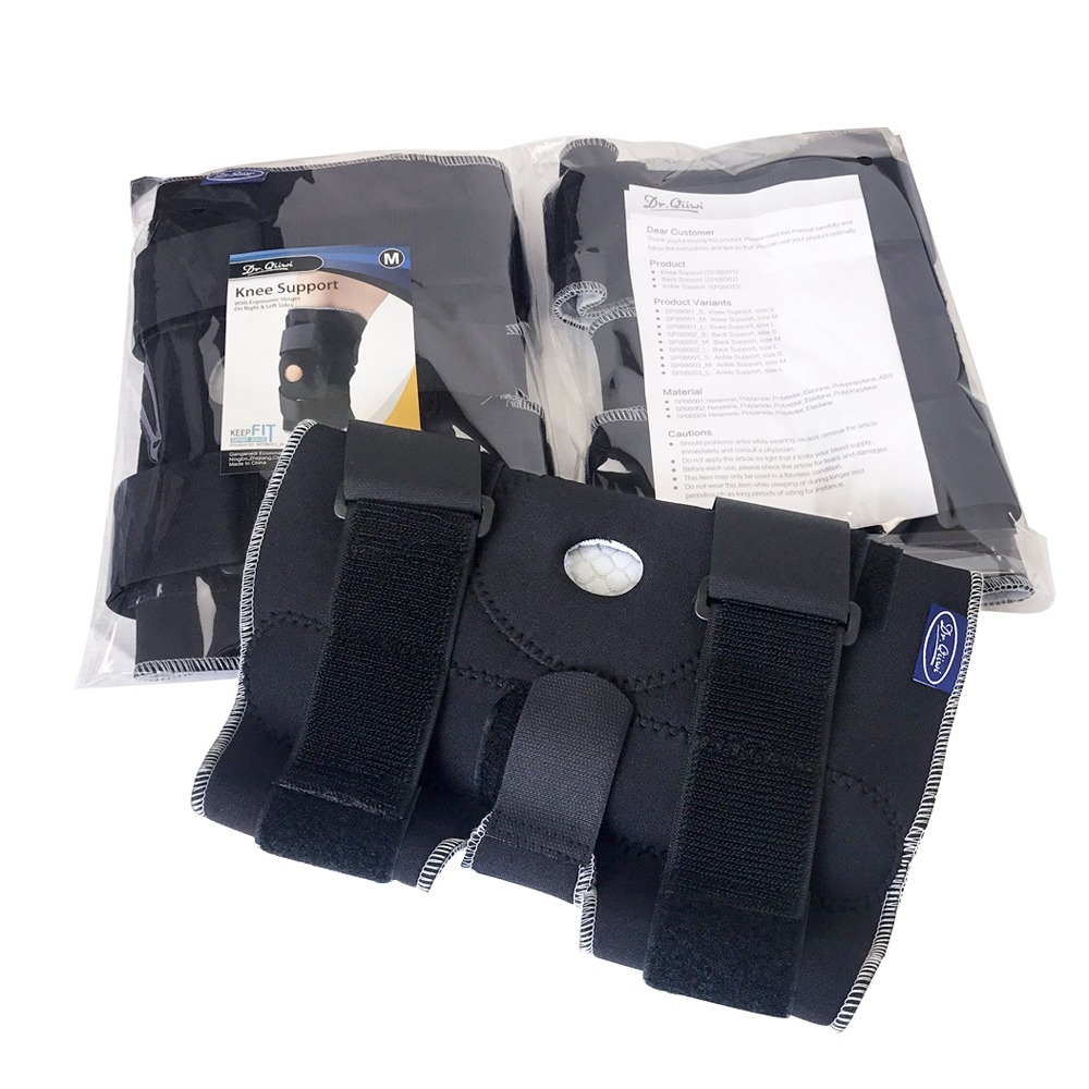 Image 5 - Adjustable Breathable Knee Brace Orthopedic Stabilizer Knee Pads Support Guard with Inner Flexible Hinge Sports Knee PadsElbow & Knee Pads   -