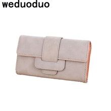 2017 New fashion women wallet clutch purses female fold long design money bag card holder high quality  coin pocket bolsas  стоимость