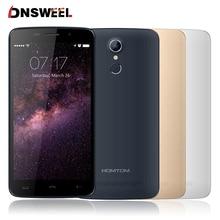 Original HOMTOM MTK6737 HT17 smartphone 5.5 pulgadas Android 6.0 Quad Core 1 GB + 8 GB 3000 mAh 13MP OTG huella digital 4G FDD teléfono Móvil