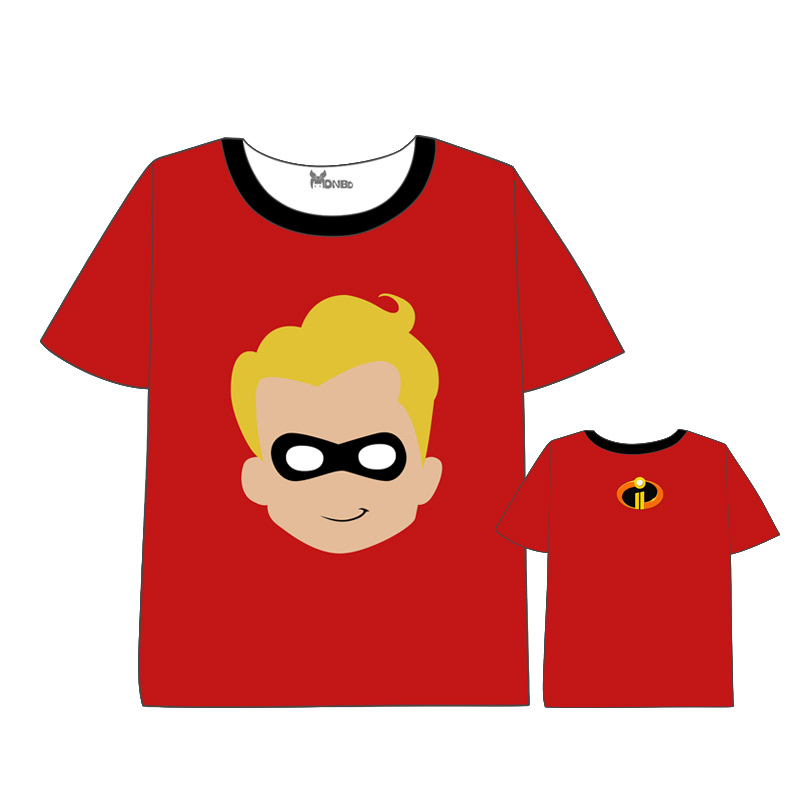 Hot Anime The Incredibles T shirt Men Women Short Sleeve Summer dressThe movie The Incredible 39 s 2 t shirt in T Shirts from Men 39 s Clothing