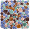 LSYB19 New Pebble Glazed Ceramic Mosaic Tiles Ceramic Mosaic Tiles For Wall