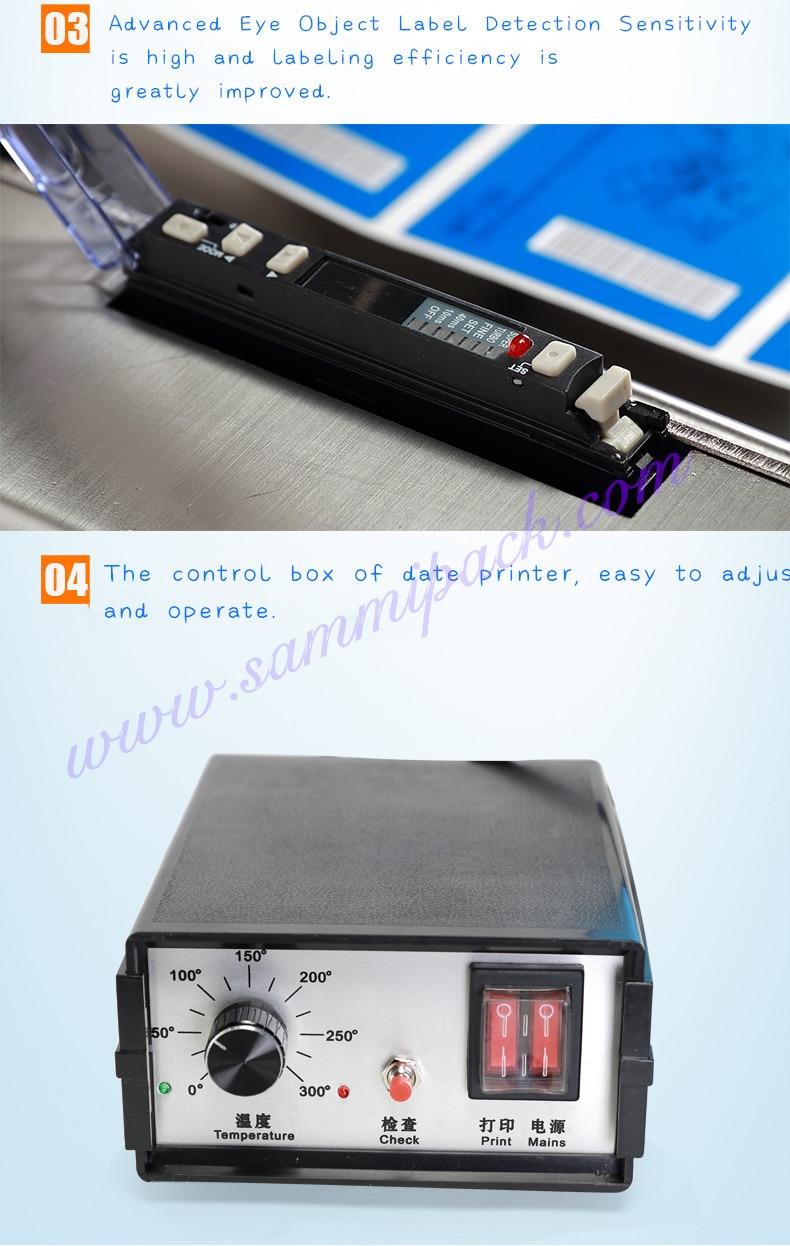 Mini 10ml Fles Etiketteermachine met Datum Codering Machine - 4
