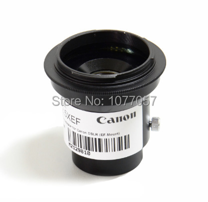 Free shipping ! Top Professional Canon DSLR/SLR CAMERA LENS C mount Adapter for microscope trino head , excellent quality free shipping 2x ni kon dslr slr camera lens adapter for microscope and ni kon camera with 30mm ring adapter