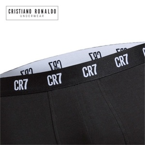 Image 5 - Cristiano Ronaldo short Boxer en coton, sous vêtements pour hommes, 3 pièces/lot, caleçons Sexy de marque