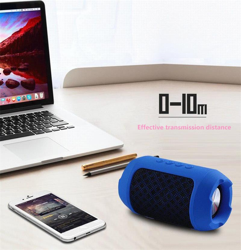 Bluetooth Outdoor Speaker Stereo Wireless Portable Portable Version Speaker High-fidelity Stereo Loud Supports AUX Port,Micro
