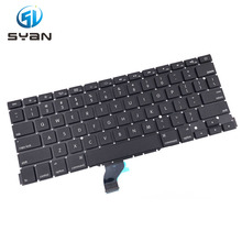 A1502 keyboard for Macbook Pro Retina 13.3 inches laptop ME864 ME865 ME866 keyboards Brand New 2013-2015