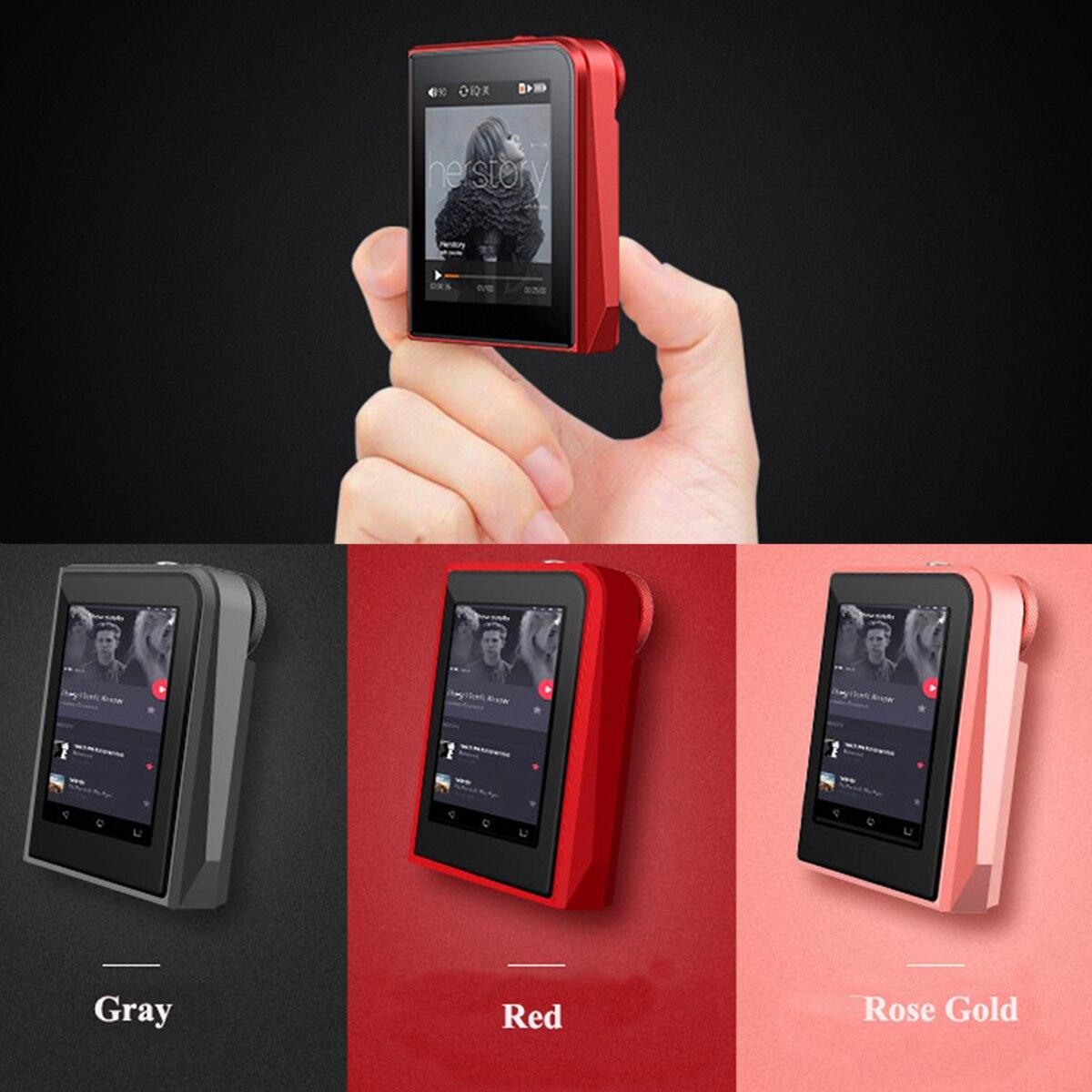 Mp3 player RUIZU A50 MP3 chave leitor de música walkman tela TFT 8 GB Apoio 28 língua Android MP3 WMA JPG WAV BMP